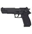 Big handgun vector image