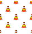 firefighterprofessions single icon in cartoon vector image vector image