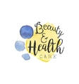 Healthcare And Beauty Promo Sign vector image vector image