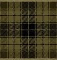 khaki tartan plaid seamless pattern vector image vector image
