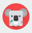 Koala Baby Animal Icon vector image