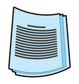 paper documents icon image vector image vector image
