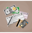 Payment Methods Concept vector image vector image