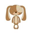 puppy cartoon icon image vector image