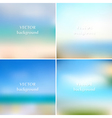Abstract blue sea summer blurred backgrounds
