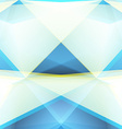 Abstract Triangle Geometrical blue Background vector image vector image