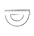 compass ruler isolated vector image