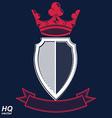 Empire design element Heraldic royal coronet - imp vector image