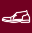 image of men s shoes vector image vector image