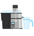 juicer icon flat style isolated white home vector image vector image