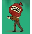 People in stress situations concept vector image vector image