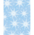 snowflake background and texture vector image vector image