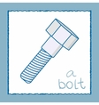 A bolt vector image