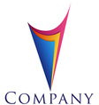 beautiful corporate emblem design template for you vector image vector image