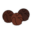 chocolate icon image vector image vector image