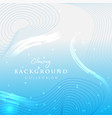 glowing abstract background design vector image vector image