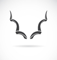 Horns vector image vector image