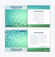 modern minimal layout cover design vector image vector image