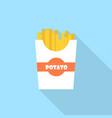 potato icon set of great flat icons design vector image