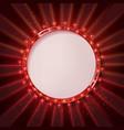 Round frame cinema vector image vector image