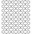 seamless circular geometric figures vector image vector image