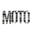 tire moto lettering vector image vector image