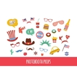 costume props for independence day america vector image vector image
