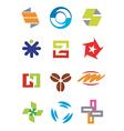 Creative design symbols icons vector image vector image