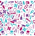 drugstore seamless pattern vector image vector image