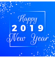 happy new year postcard happy new year 2019 text vector image vector image