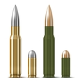 Rifle and pistol bullets vector | Price: 1 Credit (USD $1)