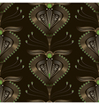 Seamless beautiful pattern graphic ornament vector image vector image
