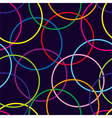 Seamless pattern with color circle