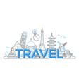 Travel - line