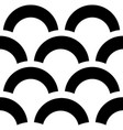 trendy pattern black and white background vector image