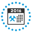 2016 Working Days Icon vector image vector image