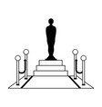 award film icon vector image vector image