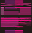 bright horizontal lines forming rectangles vector image vector image