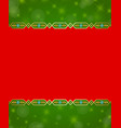 christmas background in traditional norwegian vector image vector image
