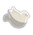 dove first communion icon vector image vector image