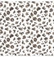 leopard pattern design vector image vector image