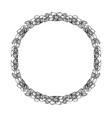 mandala ethnic decorative round element hand vector image vector image