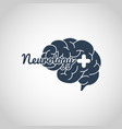 neurology logo icon template vector image vector image