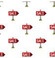 signboard salerealtor single icon in cartoon vector image vector image