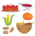 thankfood vector image