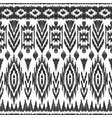 Atzec seamless pattern vector image