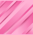 abstract geometric diagonal pink background with vector image vector image