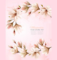 abstract spring background with beautiful vector image vector image