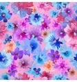 Abstract Watercolor Flower Pattern Modern Flower vector image vector image