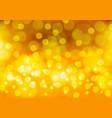 abstract yellow gold bokeh light luxury vector image vector image